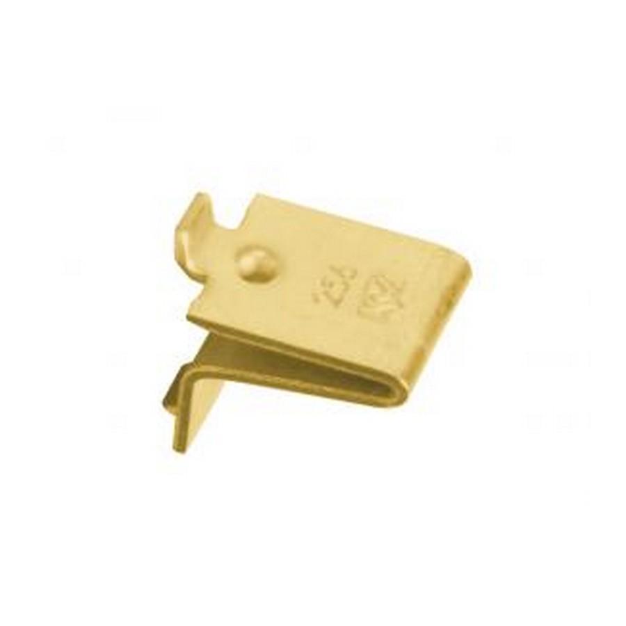 KV 256 BR, 256 Series Shelf Clip, Brass, Knape and Vogt