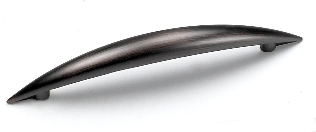 Laurey 25877 Modern Handle, Centers 3-3/4 (96mm), Venetian Bronze, Delano