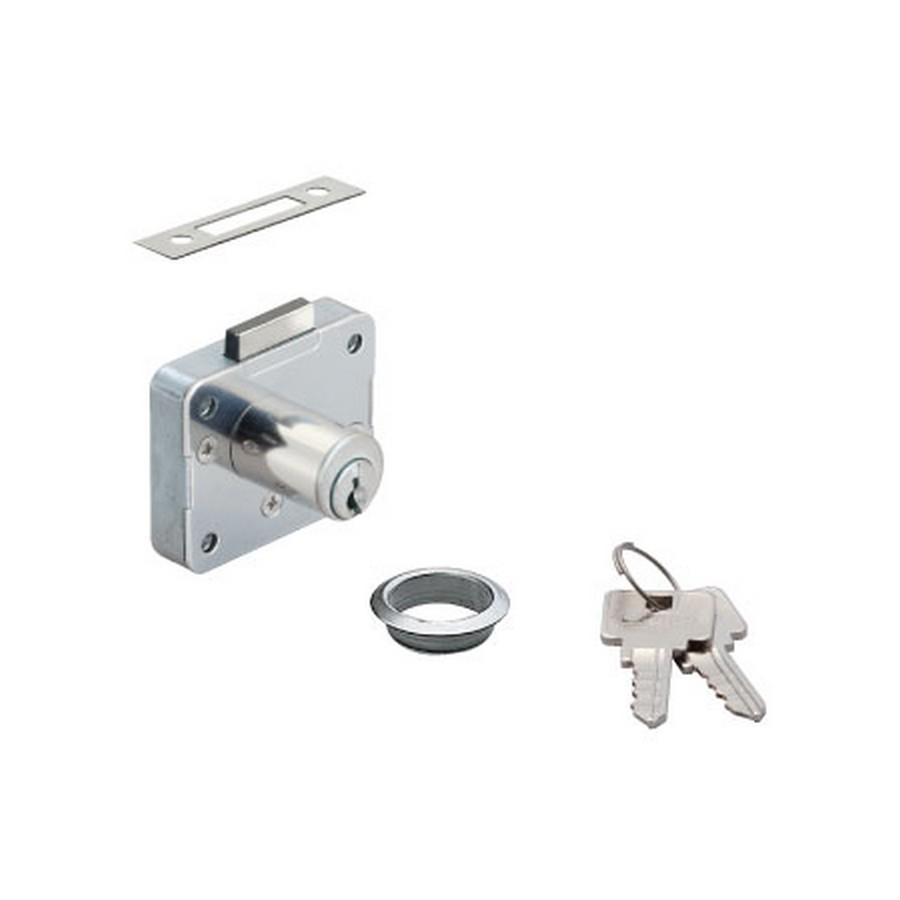 "2650 Cabinet Lock 1-3/16"""" Long KA/KD Nickel Sugatsune 2650-30-DN"