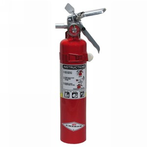 Northern Safety 3423 Fire Extinguisher, 2.5 Lb with Vehicle Bracket