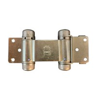 Bommer 1515-633, Louver Door Spring Hinge, Double Acting, Light Duty for 1-1/8 - 1-1/2 Thick Doors, Dull Brass