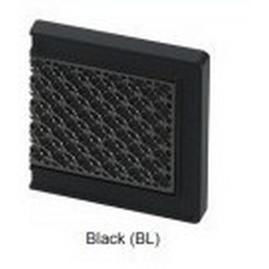 Glass Faceplate For J95 Hinge Black Sugatsune GH-J95FP-Q1-BL