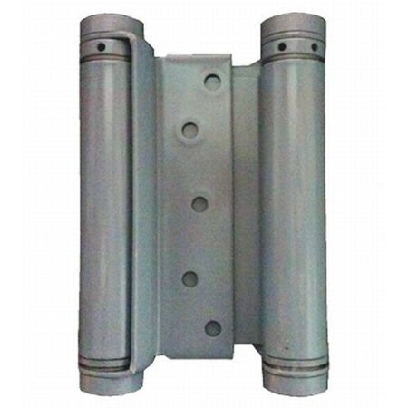 """Double Acting Gate/Spring Hinge 7/8"""" - 1-1/4"""" Thick Material Primer Finish Bommer 3029-4-600"""