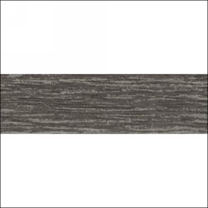 "Edgebanding PVC 30585 Blackened Fiberwood, 15/16"" X .018"", 600 LF/Roll, Woodtape 30585-1518-1"
