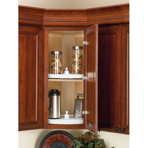 Rev-A-Shelf 3071-18-15-52 - 18in Full Circle Lazy Susan Shelf Only, Almond