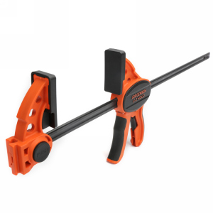 """Pony Jorgensen 33418, 18"""" One Handed E-Z Hold Clamp, Throat Depth 3-1/3"""", Clamping Force 300 lb"""