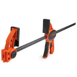 """Pony Jorgensen 33424, 24"""" One Handed E-Z Hold Clamp, Throat Depth 3-1/3"""", Clamping Force 300 lb"""