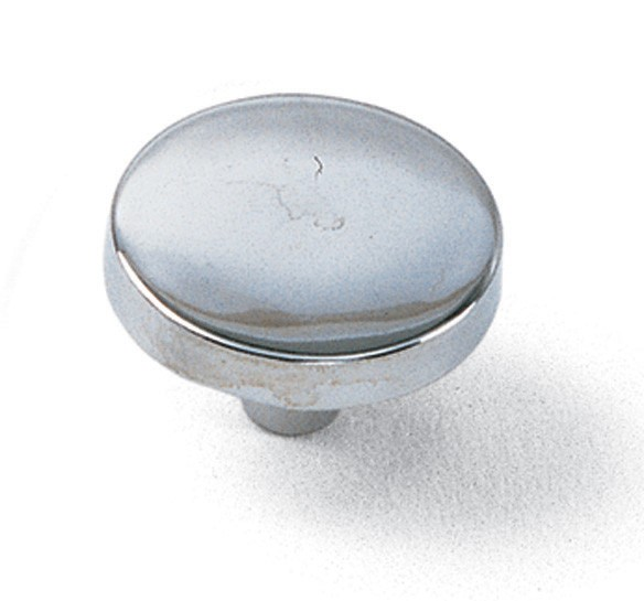 "Tech Knob 1-1/4"" Dia Polished Chrome Laurey 34526"