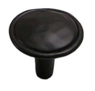 "Merlot Knob 1-3/8"" Dia Oil Rubbed Bronze Laurey 37466"