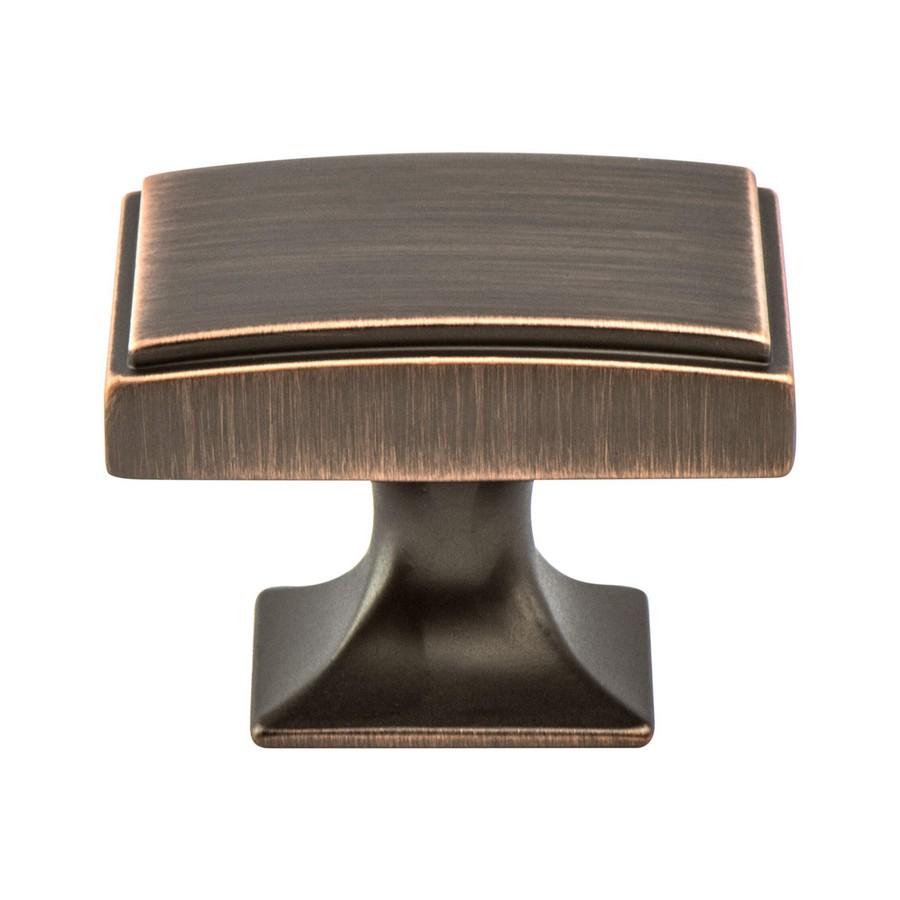 "Hearthstone Knob 1-9/16"" Long Verona Bronze Berenson 4081-10VB-P"