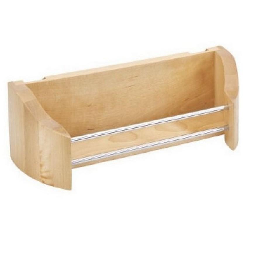 "11"" Wood Door Storage Bin Set Maple Rev-A-Shelf 4235-11-5"