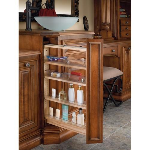 "Rev-A-Shelf 432-VF26-6 - 6""W x 26""H Vanity Base Cabinet Filler"