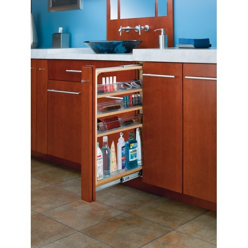 "Rev-A-Shelf 432-VF30-6 - 6""W x 30""H Vanity Base Cabinet Filler"