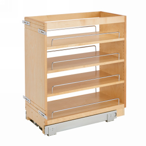 "11"" Base Cabinet Organizer Maple Rev-A-Shelf 448-BC-11C"