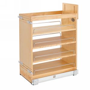 Rev-A-Shelf 448-BCSC-11C - 11in Base Cabinet Organizer Soft-Close