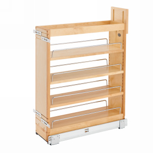 Rev-A-Shelf 448-BCSC-6C - 6in Base Cabinet Organizer Soft-Close