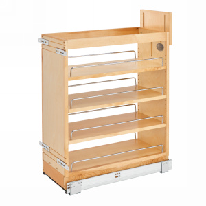 Rev-A-Shelf 448-BCSC-9C - 9in Base Cabinet Organizer Soft-Close
