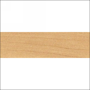 "PVC Edgebanding 4943 Scandinavian Maple,  15/16"" X .018"", Woodtape 4943-1518-1"