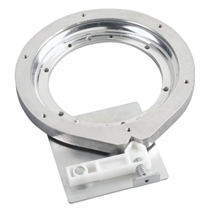 Rev-A-Shelf 4BS-7-1, 7in Dia. Swivel Aluminum Bearing with Stop
