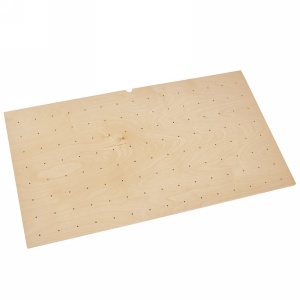 "Small 24"" x 21"" Wood Peg Board Only Maple Rev-A-Shelf 4DPB-2421"