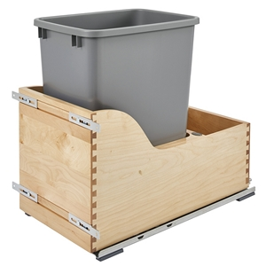 Rev-A-Shelf 4WCSD-1535DM-1 Servo 35 Qt. Pullout Waste Container