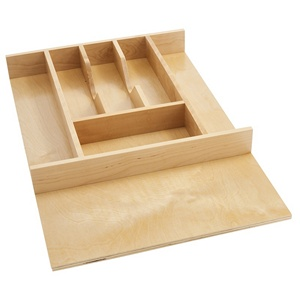 "14-5/8"" Cutlery Drawer Insert, Wood, Maple, Rev-a-shelf  4WCT-1SH"