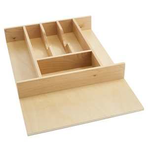 Rev A Shelf 4wct 1 80 14 5 8 Wood Cutlery Tray Drawer Insert Cut