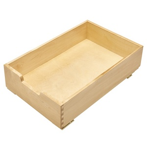 "14"" Wood Pull-Out Drawer Maple Rev-A-Shelf 4WDB-15"