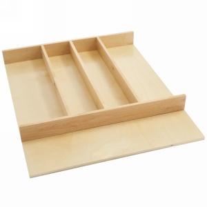 """Natural Maple Shallow Utensil Drawer Insert 18-1/2"""" W Rev-A-Shelf  4WUT-1SH"""