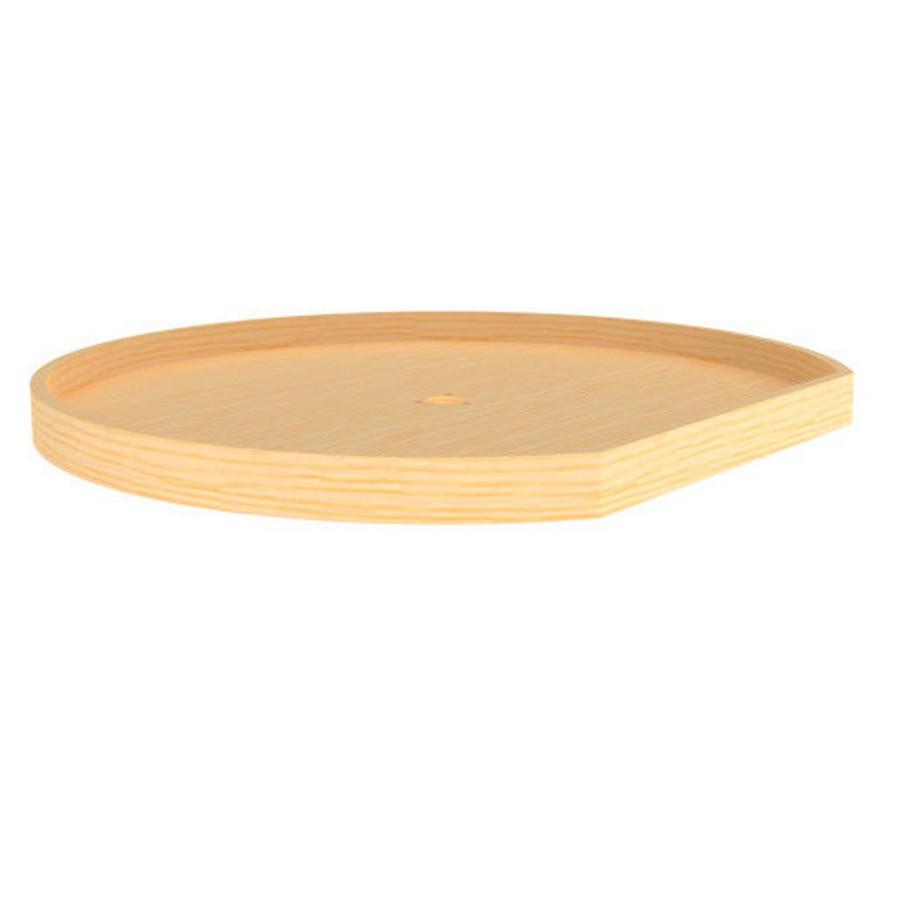 "20"" Wood D-Shape Lazy Susan Shelf Only Natural Maple Rev-A-Shelf 4WLS201-20-52"