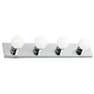 Design House 500892 The Village 4-Light Vanity, Polished Chrome