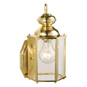 Design House 501833 Augusta Outdoor Downlight, 5-1/2 X 11, Solid Brass