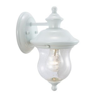Design House 503839 Highland Outdoor Downlight, 6 X 10-5/8, White
