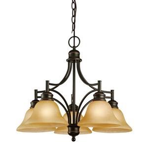 Design House 504167 Bristol 5-Light Chandelier, Oil Rubbed Bronze