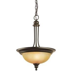 Design House 504266 Bristol 2-Light Pendant, Oil Rubbed Bronze