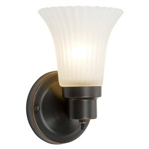 Design House 505115 The Village 1-Light Wall Sconce, Oil Rubbed Bronze