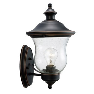 Design House 505362 Highland Outdoor Uplight, 7-1/2 X 13, Oil Rubbed Bronze