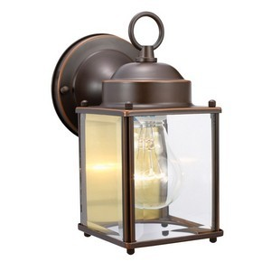 Design House 506576 Coach Outdoor Downlight, 4-1/2 X 8, Oil Rubbed Bronze