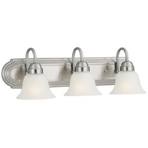 Design House 506584 Allante 3-Light Vanity, Satin Nickel