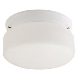 Design House 507327 2-Light Ceiling Mount Light Fixture, White