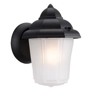 Design House 507475 Maple Street Outdoor Downlight, 6 X 8-3/4, Black Die-Cast Aluminum