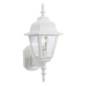Design House 507574 Maple Street Outdoor Uplight, 6 X 17, White Die-Cast Aluminum
