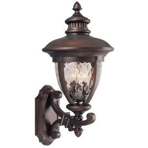 Design House 508309 Tolland Outdoor Uplight, 10-1/2 X 22-3/4, Patina Bronze
