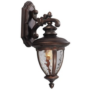 Design House 508317 Tolland Outdoor Downlight, 8-1/2 X 18-1/2, Patina Bronze