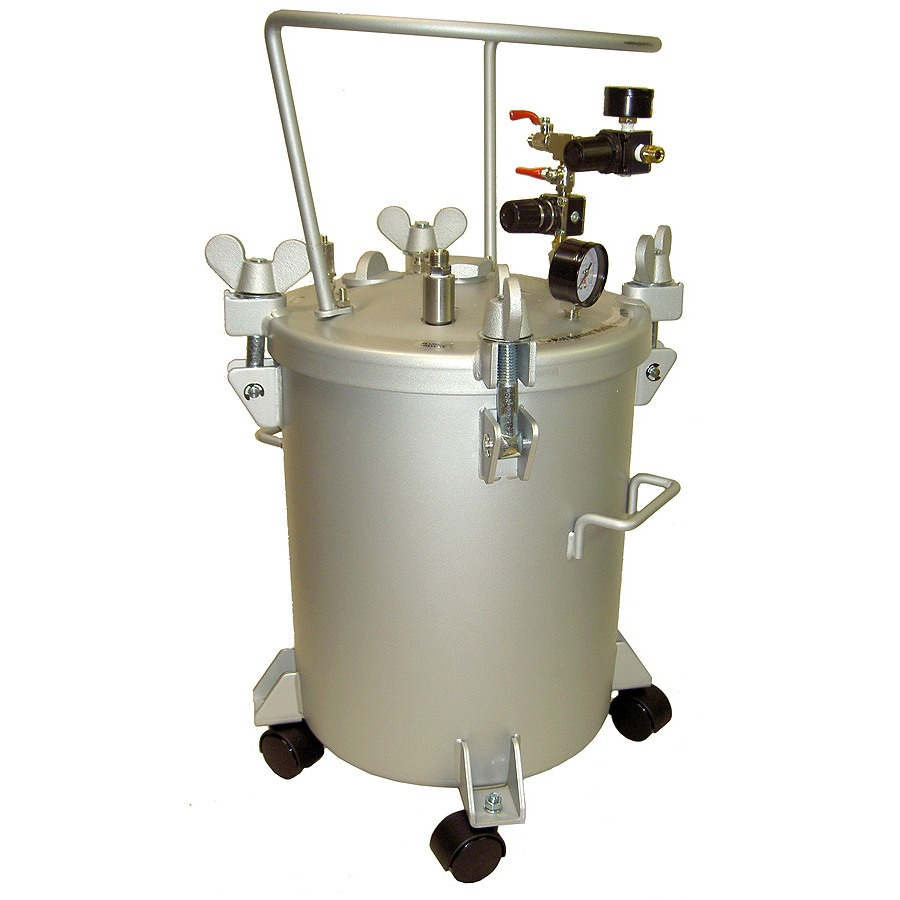 CA Tech 51-508, Pressure Tank, 5Gal, Double Regulator