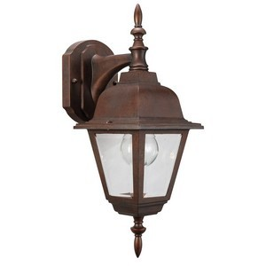 Design House 511469 Maple Street Outdoor Downlight, 6 X 17, Washed Copper Die-Cast Aluminum