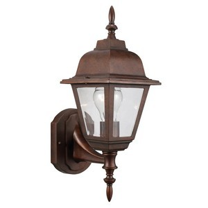 Design House 511485 Maple Street Outdoor Uplight, 6 X 17, Washed Copper Die-Cast Aluminum
