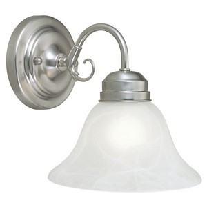 Design House 511618 Millbridge 1-Light Vanity, Satin Nickel