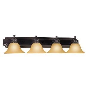 Design House 511758 Bristol 4-Light Vanity-Light, Oil Rubbed Bronze