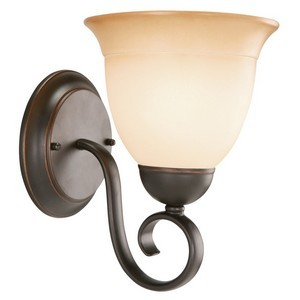 Design House 512657 Cameron 1-Light Wall Sconce, Oil Rubbed Bronze